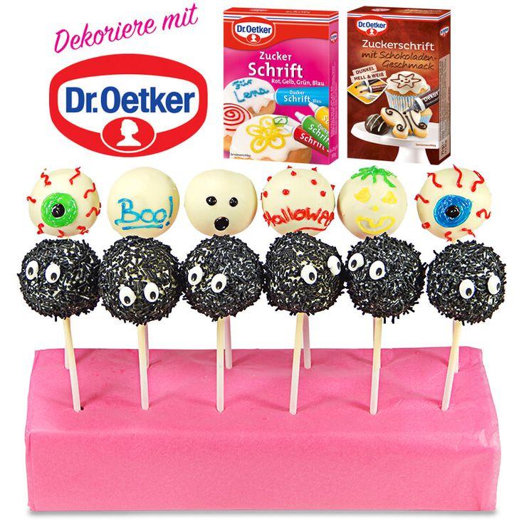 Dr. Oetker Halloween Cake Pops