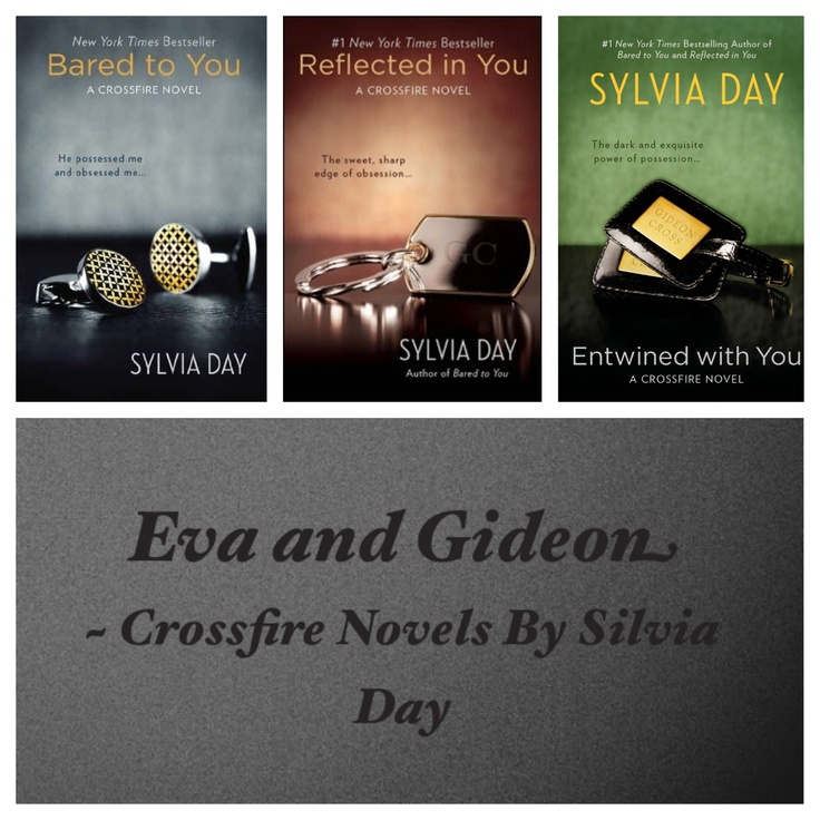 #Crossfire Novels by Silvia Day #Books If you liked fifty shades of grey you will like these!!
