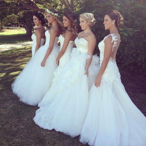 Beautiful Brides.