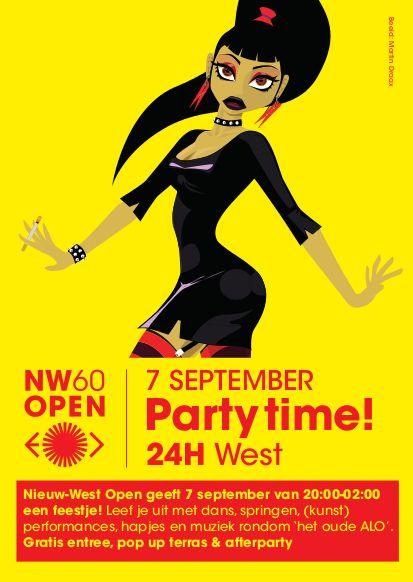 #24Hwest Nieuw West Express - Nieuw-West Open flyer