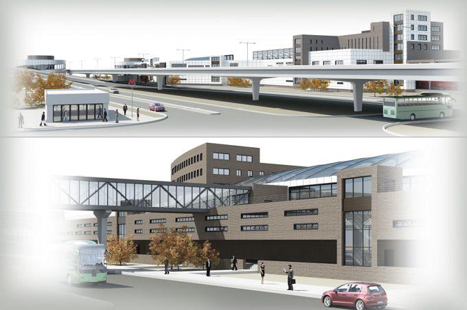 Транспортный узел Лианозово - Центральное Архитектурное Бюро