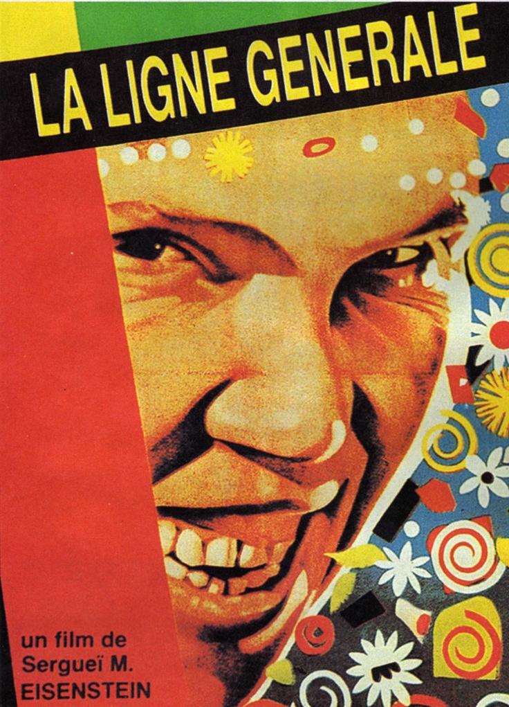 """""""La Ligne Générale"""" Artiste : Serguei Mikhailovitch EISENSTEIN / Date : 1929 / C'est un film poétique, mais aussi de propagande, qui met en valeur les bienfaits de la collectivisation des campagnes dans un petit village russe. (Étudié en classe Hist-Géo 3e bilingue)"""