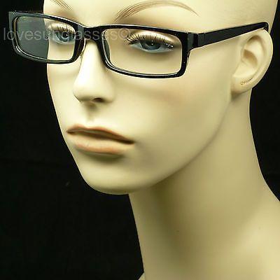 Clear lens glasses fake eye wear men women fashion hipster frame style nerd | eBay