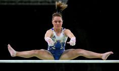 #Rio2016 ~ Amy Tinkler, the youngest member of Team at the Rio Olympics, took up the sport at the age of two and wants to follow the example set by Beth Tweddle Well Done Amy