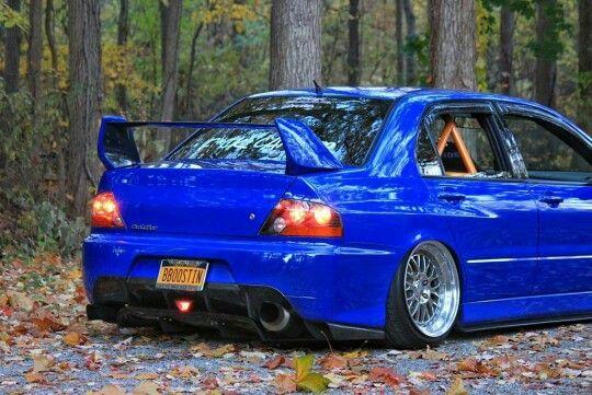 stanced mitsubishi lancer evolution 89 evo pinterest evolution mitsubishi lancer evolution and evo - Mitsubishi Evo 9 Blue