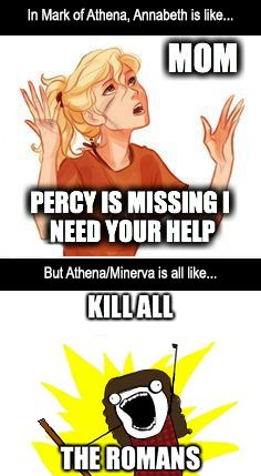 A meme I made while rereading Mark of Athena :)>>>>> Hahaha so true