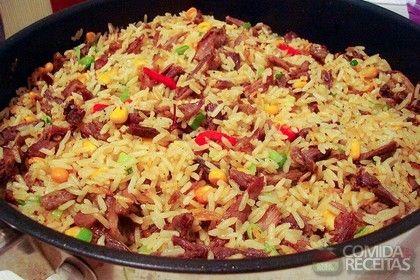 Receita de Arroz de Maria Isabel em receitas de arroz, veja essa e outras receitas aqui!