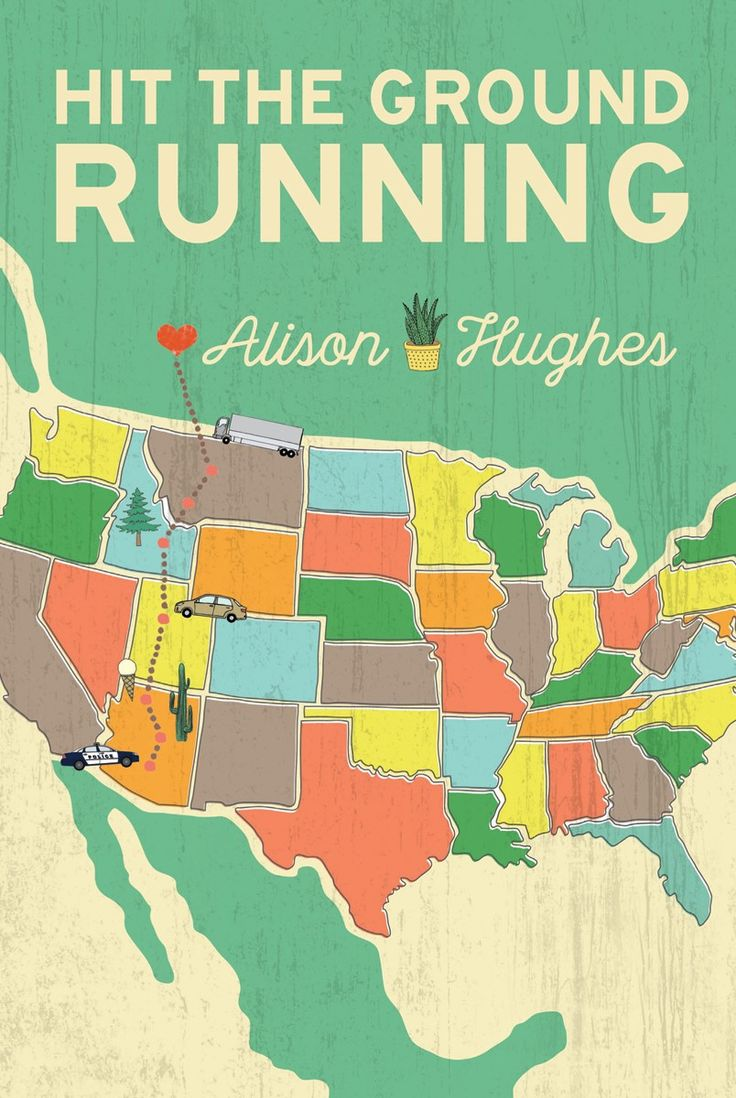An ancient car. No driver's license. A run for the border. What could possibly go wrong? HIT THE GROUND RUNNING by Alison Hughes