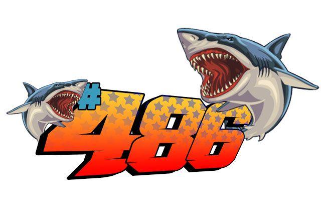 Stiker Shark Racing