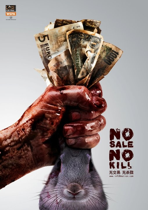 No Sale = No Kill (If you don't buy it, there will be no demand)