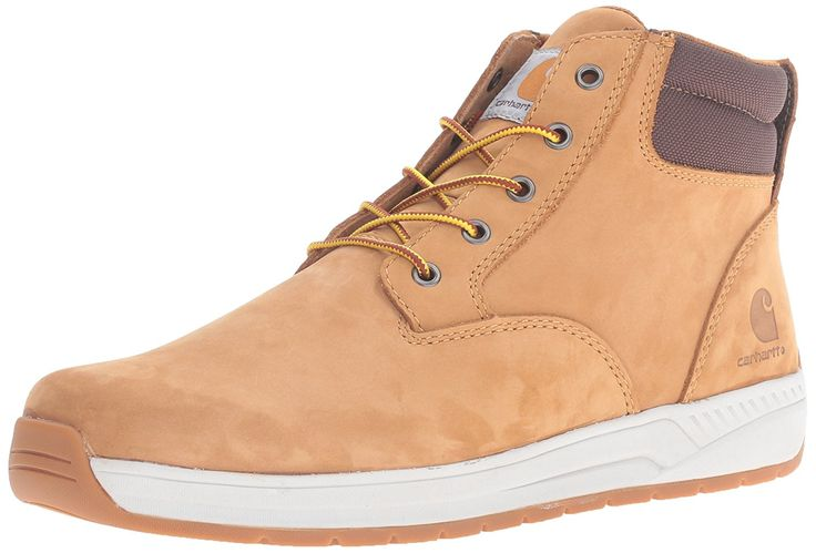 Carhartt Men's CMX4012 4' Ltwt PT Wheat Caswedge Work Boot -- Remarkable product available now. : Carhartt Boots