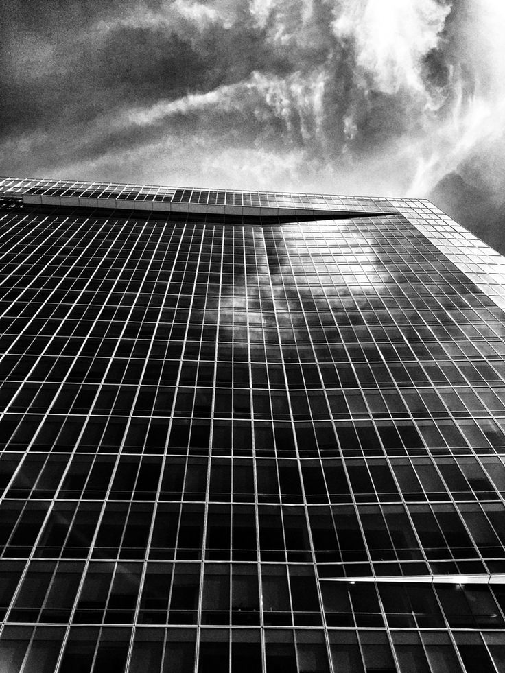 Skyscraper...  iPhone 6, Snapseed, Pankrác, Prague,  Instagram & EyeEm @majklb
