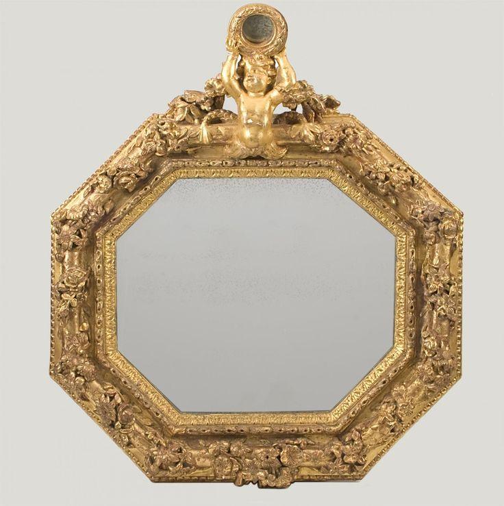 Een Nederlands Barokke Spiegel | Van Nie Antiquairs