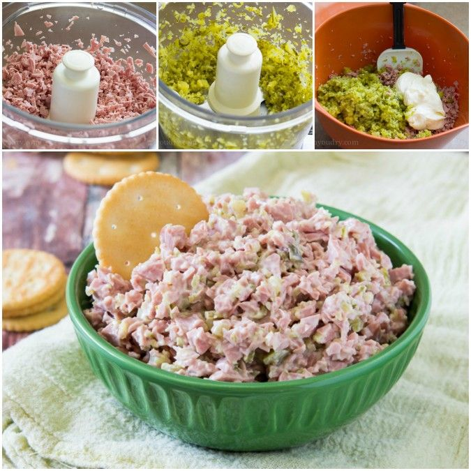 Monkey Meat! It's a delicious 3 ingredient sandwich spread that kids go bananas over!