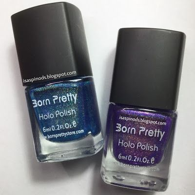 Little Fairy: Probando Esmaltes Born Pretty Holo Polish - Aplicación y Swatches