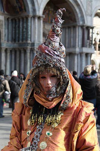 Carnaval Venecia máscaras y trajes6