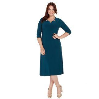 Nidya Moda Büyük Beden Metalli Elbise-4081p - n11.com