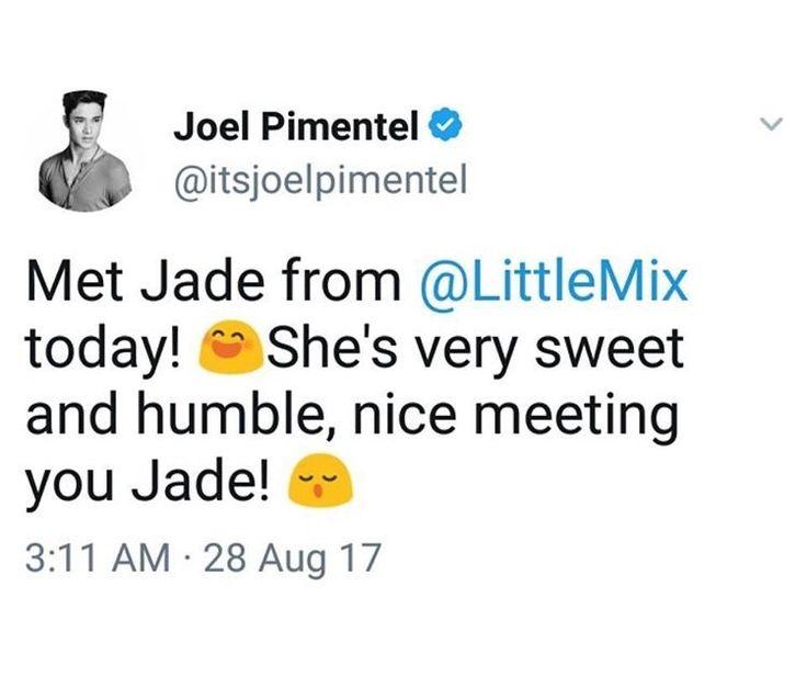 Resultado de imagen para joel cnco jade little mix