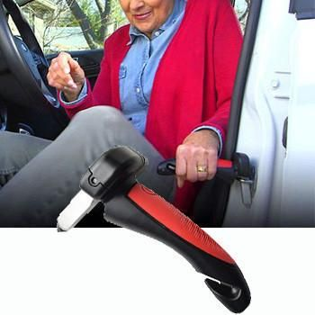 Description:This portable handle is perfect for the elderly, injured, or anyone who needs mobility assistance!Main Features:Nonslip grip handle is comfortable to holdProvides leverage to lift yourself upForged aluminium construction tha...