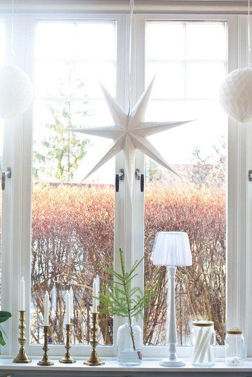 Jul i fönstret  Ellas inspiration