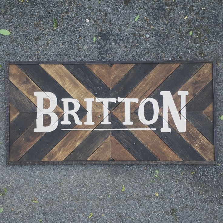 Rustic Wood Art Design Made from Reclaimed