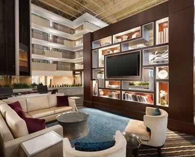 Embassy Suites Atlanta Airport - Atlanta, GA - Media Lounge | GA 30337
