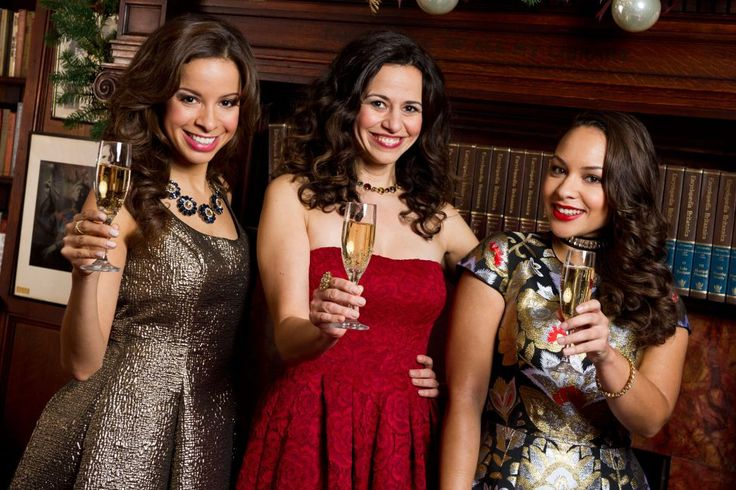 From left, Lexi Lawson, Mandy Gonzalez, and Jasmine Cephas Jones.