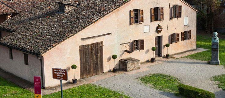 Giuseppe Verdi Birthplace - Busetto (Parma, Italy)