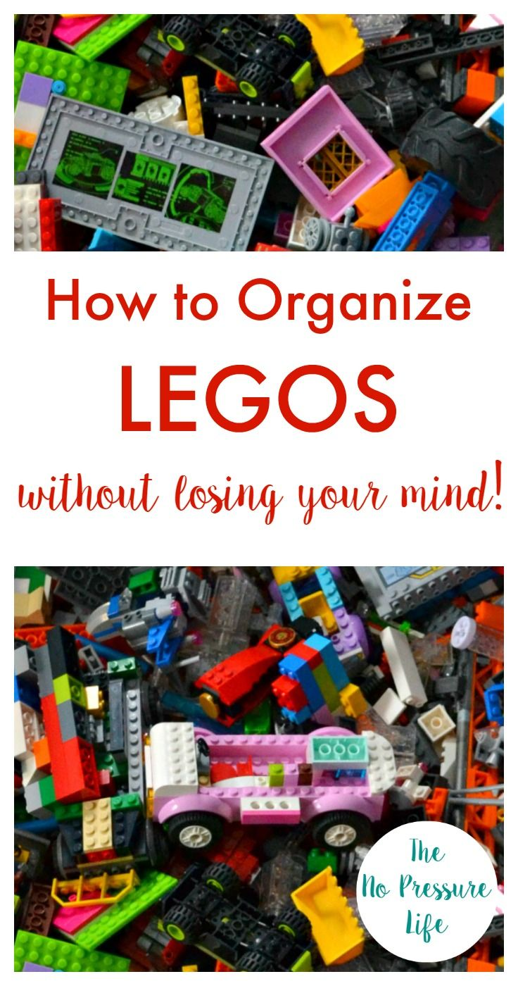 Why didn't I think of this sooner? This Lego organization trick is so easy! Such a simple Lego storage idea. via @nopressurelife