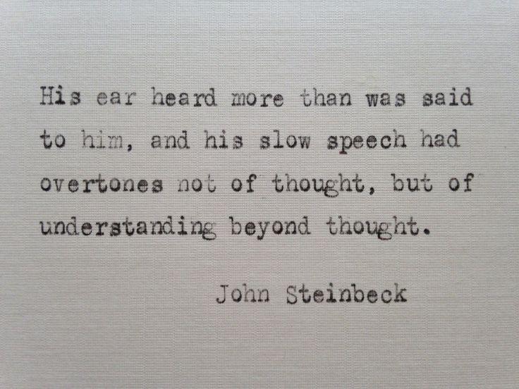 john steinbeck essay