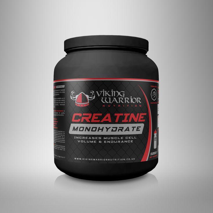 Creatine Monohydrate - Viking Warrior Nutrition
