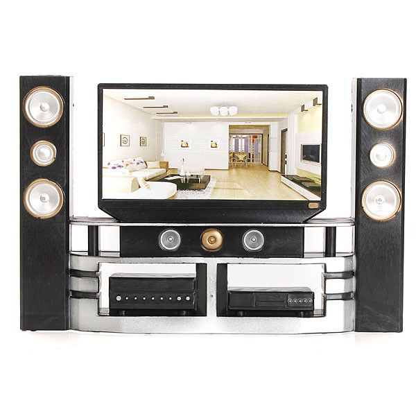 Hi Fi 1:6 TV Home Theater Cabinet Set Combo for Blythe for Barbie Dolls House Dollhouse Furniture-in Dolls Accessories from Toys & Hobbies on Aliexpress.com | Alibaba Group