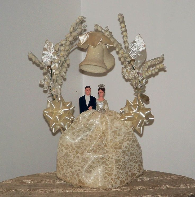 Vintage Wedding Cake Toppers - http://drfriedlanderdvm.com/vintage-wedding-cake-toppers/