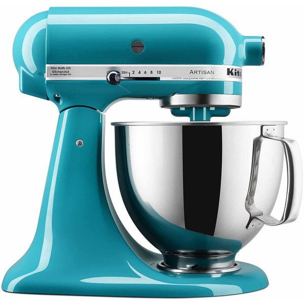 KitchenAid Artisan 5-qt. Stand Mixer KSM150PS + FREE Grinder By Mail ($350) ❤ liked on Polyvore featuring home, kitchen & dining, kitchen gadgets & tools, kitchenaid pasta machine, kitchenaid, kitchenaid food grinder, kitchen aid food grinder and kitchen aid pasta maker