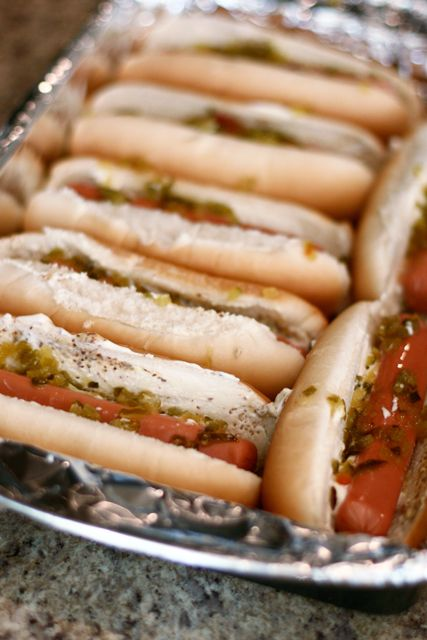Oven Hot Dogs @ In the Wabe