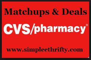 CVS Coupon Deals & Matchups 9/22 - 9/28 - Simplee Thrifty.....