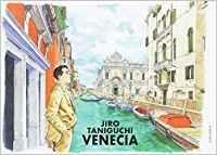Venecia, una historia, una narración contada por un joven que retracaba las huellas de sus abuelos en Venecia. La historia se presenta en el estilo de los paneles cómicos. Lo seguimos a lo largo del viaje mientras compara las viejas fotos de familia que encontró con los lugares que ve. Cada panel captura las vistas y las escenas de Venecia (Amazon).