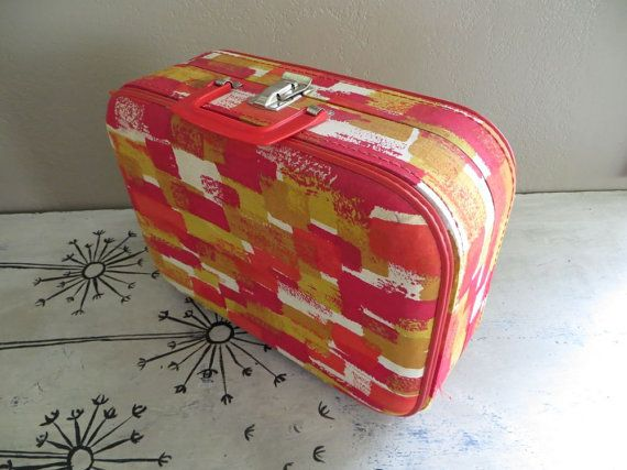 Childs Suitcase Childs Case Small Suitcase by VintageShoppingSpree $35 2/2016