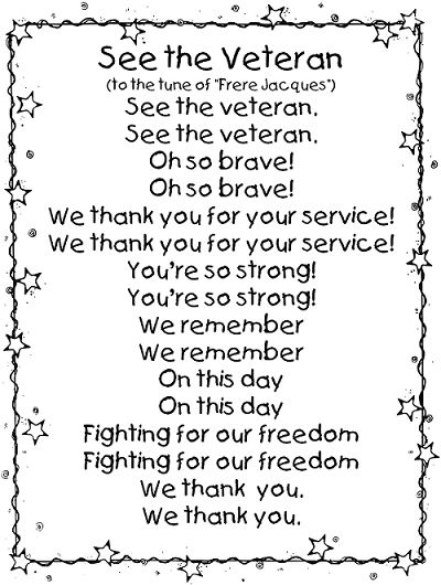 Verterns Day Poems Tribute to Our Heroes