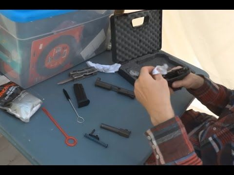 CZ 75 9mm P-07 Cleaning - YouTube