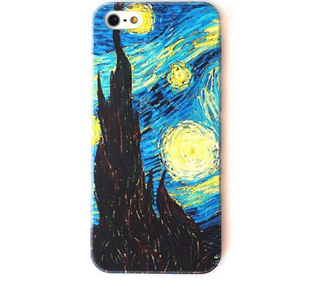 Van gogh starry night phone case accessories amp shoes pinterest