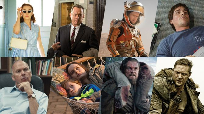 Best Picture Nominees Oscars 2016