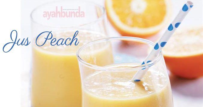 Jus Peach :: Peach Juice :: Klik link di atas untuk mengetahui resep jus peach