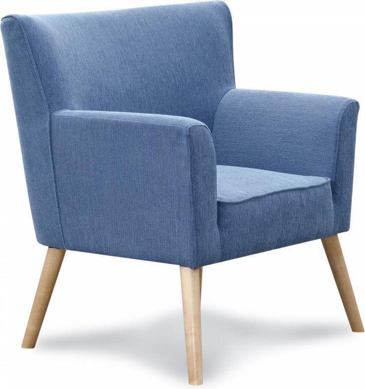 Fauteuil Inez - Blauw - i-Sofa