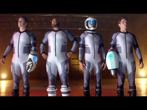 Lazer Team Official Trailer #1 (2015) - Sci-Fi Action Comedy Movie
