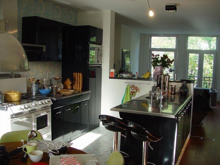17 beste idee n over amerikaanse keuken op pinterest houten werkbladen houten keuken - Moderne amerikaanse keuken ...