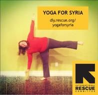 Help me raise money for Syrian Refugee through Yoga! Nancy's 40 Days of Yoga for Syrian Refugees | International Rescue Committee iRESCUE DIY Fundraising