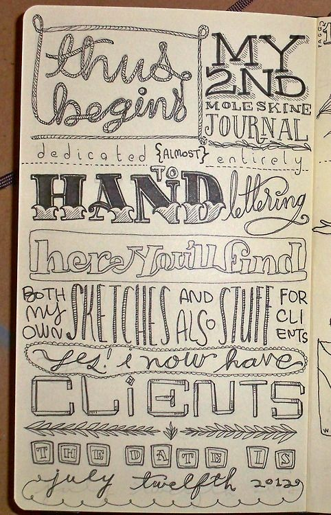 First page of the new sketchbook. i should have me one of these