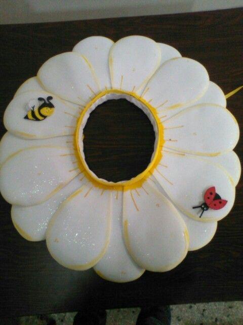 Disfraz flor margarita