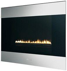 Smeg L23CL Classic Natural Gas Landscape Fire Stainless Steel